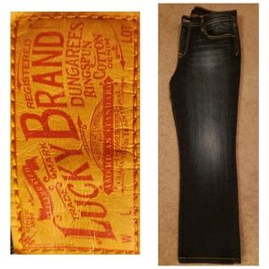 Lucky Brand Ashford Classic Rider Bootcut Jeans
